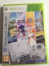 DREAMCAST COLLECTION 4 JEUX SONIC SPACE CHANNEL 2  XBOX 360 FRANCAIS COMPLET