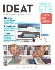 IDEAT 116 juillet aout 2015 SPECIAL ETE ARLES + PARIS POSTER GUIDE