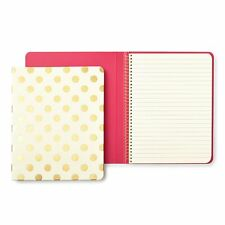 KATE SPADE - Spiral Notebook - Gold Pavilion - 112 Lined Pages