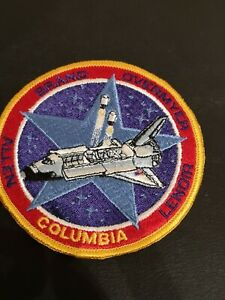 NASA Space Shuttle Astronaut Mission Patch STS 5  ISS Columbia