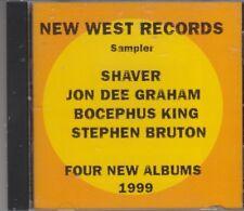 New West Records Sampler 1998. Shaver, Jon Dee Graham, Bocephus King +