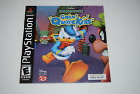 Donald Duck Going Quackers Playstation PS1 Video Game Manual Only