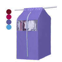 New Clothes Dustproof Bag Dress Suit Garment Hanging Storage Protector Wardrobe