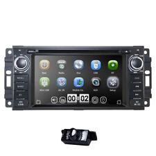 Camera +Single 1Din Car Radio Stereo GPS DVD CD Player Canbus for Jeep Wrangler