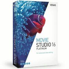 VEGAS MOVIE STUDIO 16 Platinum - SONY MAGIX- LIFETIME LICENSE