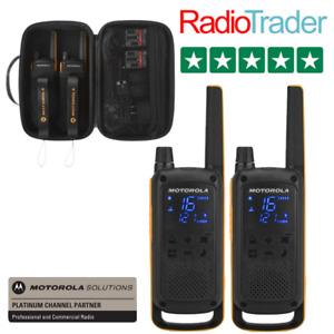 Motorola TLKR T82 Extreme Twin Pack Licence Free Two Way Radio Walkie Talkie PMR