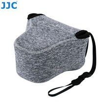 JJC Oc-f2bg Neoprene Soft Pouch for Fujifilm Olympus Mirrorless Camera Lens