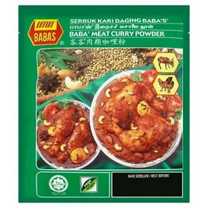 Malaysian Babas Meat/Chicken Curry Powder 25g