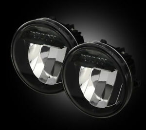 Recon Smoke LED Fog Lights For 2009 - 2014 Ford F-150 #264513BK