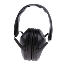 Portable ABS Isolation Headphone Soft Earmuff for Drum Kit Accessory Black