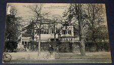 CPA CARTE POSTALE 1908 PARIS BOIS DE BOULOGNE CHALET DU TOURING ILE DE FRANCE