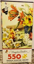 Ceaco Bastin Spring Tulips Jigsaw Puzzle, 550 Pieces, **BRAND NEW**