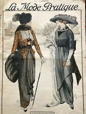 MODE PRATIQUE Jan 18,1913 + sewing patterns - SPECIAL MASQUERADE