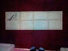 AERMACCHI LOCKHEED SANTA MARIA SCALA Semi FF o RC Modello Piano Per D Boddington