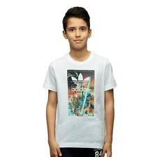 adidas Boys' 100% Cotton Crew Neck T-Shirts & Tops (2-16 Years)