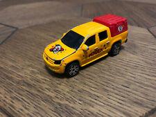 Majorette 203C Volkswagen Amarok Yellow 1/65 Diecast Scale Model