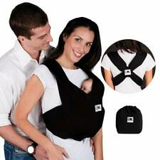 Baby K'Tan Baby Carrier Large L UK 16-20 Black No Wrapping Slips On