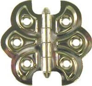 Butterfly Hinge - Nickel Plated Steel    N1792