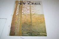 MARCH 25 1972 NEW YORKER magazine cover