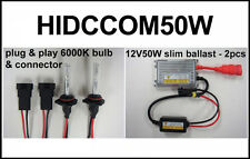 2011-2012 CAN AM COMMANDER 50w HID UPGRADE HEADLIGHT Conversion Kit CANAM