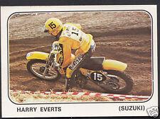 Panini Sticker - Moto Sport 1979 Sticker No 176 - Harry Everts - Suzuki