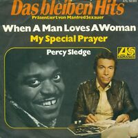 """Percy Sledge - when a Man Loves A Woman 7 """" Single S8452"""