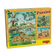 Bei uns zu Hause Spiel Deutsch 2015 3 erste Mix-Max-Puzzles Geduldspiel Puzzles & Geduldspiele
