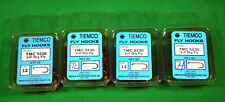 Tiemco  TMC Fly Tying Hooks 4 boxes of 50 Lot Dry Flies NEW 200 Total
