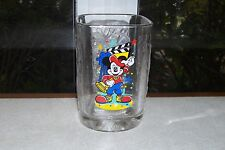 2000 McDonald's Happy Meal MICKEY MOUSE DIRECTOR Promotional Glass  - NEW/UNUSED