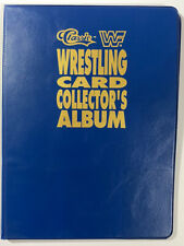 1990 WWF Classic Series 1 Wrestling Card Collector's Album Binder *No Cards*