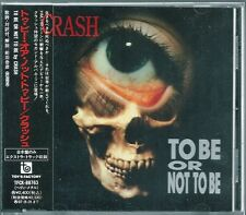 Crash To be or Not to be +1 Japan CD w/obi morrisound exodus kreator TFCK-88763