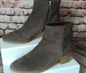 clarks somerset suede somerset boots size 5d