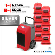 Contair® Wholesale Restoration Silver Pack of Dehumidifiers and Air Movers Red