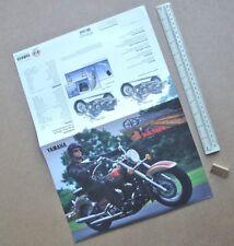 "1998 Yamaha XVS650A ""Drag Star Classic"" Motorycle Brochure. Cruiser Bike  (R158)"