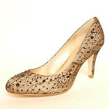 Lotus Angelica Spitze und schwarzen Perlen Pumps Schuh High Heel Besondere Anlass