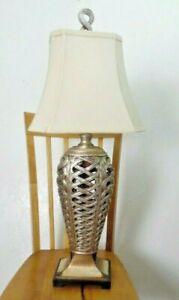 Uttermost Metallic Heavy Table Lamp