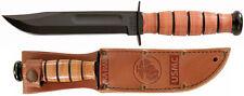 KA-BAR Kabar Short USMC Knife 1250 Leather Sheath 13cm Blade Hunting Ka1250