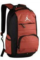Nike Jumpman 9A1640-681 Laptop Bookbag Basketball Boys Backpack Gym Red/Black