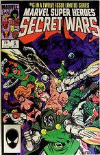 "Marvel Comics Super Heroes Secret Wars #6 ""A Little Death..."" Jim Shooter Story"