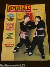 FIGHTERS MAGAZINE - LES FAIRCLOUGH KARATE - JULY 1988