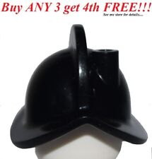 ☀️NEW Lego Boy/Girl Minifig Hat Black CONQUISTAD​OR HELMET Pirate Armada