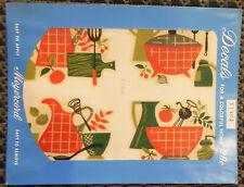 Vintage Meyercord Decals X146A Kitchen Mid-Century Modern - 4 Decal