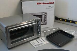 "KitchenAid KCO253CU 12"" Compact Oven KitchenAid Convection Toaster Oven (OB-30B)"