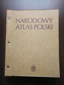 NARODOWY ATLAS POLSKI/NATIONAL ATLAS OF POLAND/- BY POLISH ACADEMY OF SCIENCE