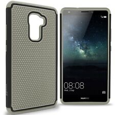 For Huawei Mate S Case - Gray / Black Rugged Skin Phone Cover