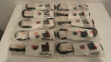Lot of 10 NEW Dell 6715009011 18pin 6ft DVI-M to DVI-M Cable Dual Ferrite (Blk)