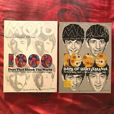 MOJO 2 x Mags Limited Collectors Edition THE BEATLES Beatlemania + Psychedelic