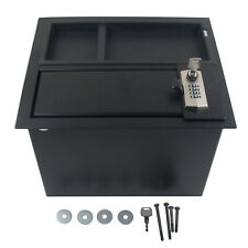 Console Fit For TOYOTA Tundra 14-20 Center Safe GUN STORAGE 0001634174 OEM