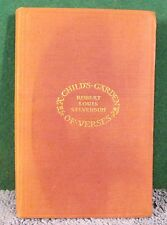 Vintage Book - A Child's Garden Of Verses by Robert Louis Stevenson 1906