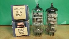 Pair of Mullard Blackburn EF86 6267 NOS NIB Vacuum Tubes